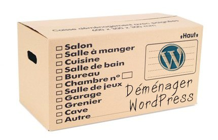 Déplacer WordPress simplement